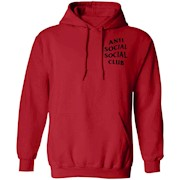 Anti Social Social Club – Left Chest and Back – Hoodie