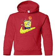 Kyrie Irving Basketball Spongebob Hoodie for Kids