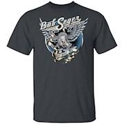 BOB SEGER NIGHT MOVES Classic Rock Music Vintage T-Shirt