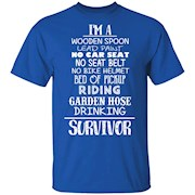 I'm A Wooden Spoon – Lead Paint – Survivor T-Shirt