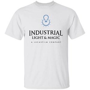 Industrial Light & Magic A LucasFilm Company Logo T-Shirt for Men, Women