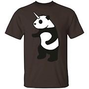 Panda Unicorn T-shirt Pandacorn.