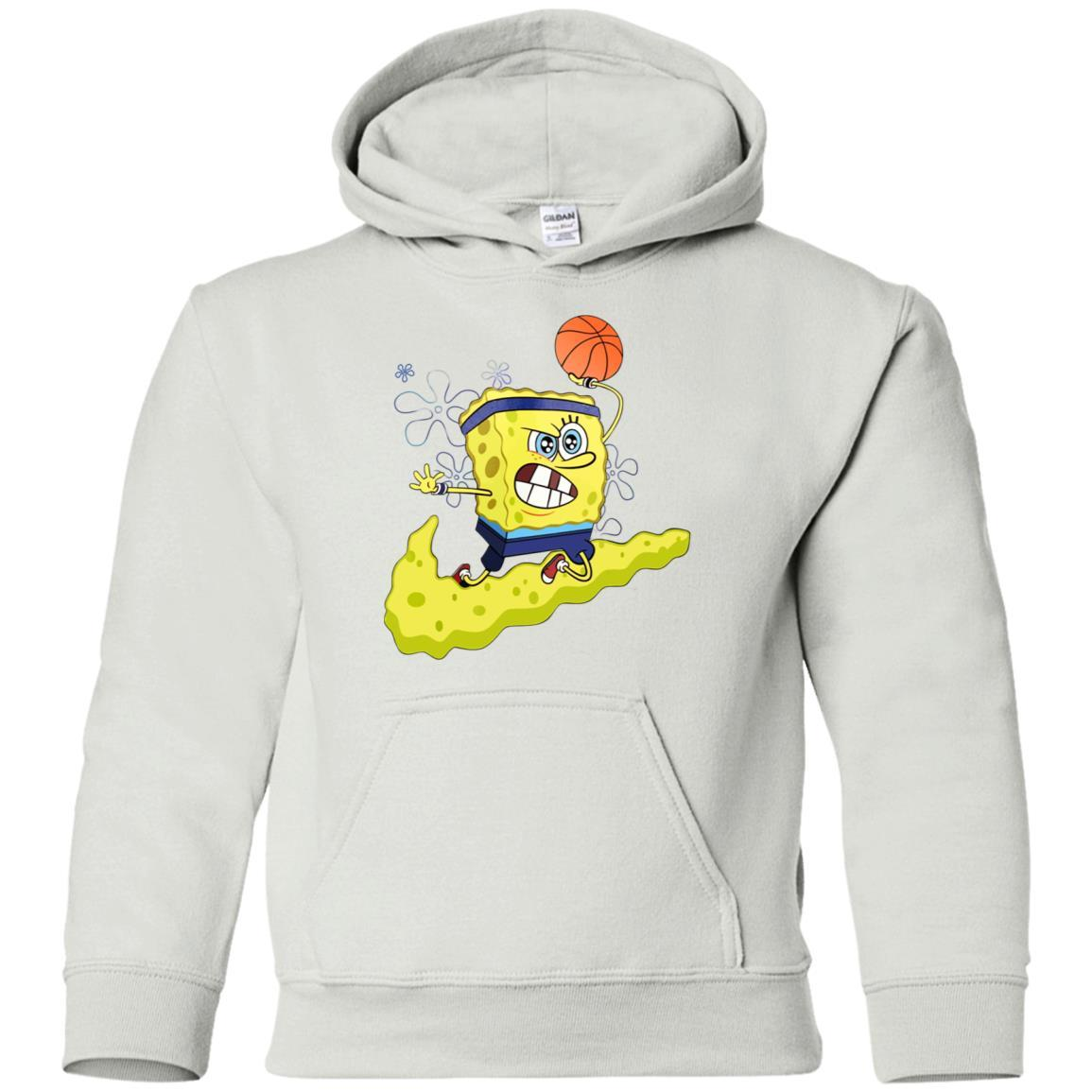 Kyrie IrvingBasketball Spongebob Hoodie for Youth