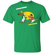 Slowpoke Rodriguez Speedy Gonzalez Funny Vintage Cartoon Tee for Youth