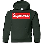 Supreme Logo Hoodie for Youth