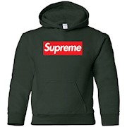 Supreme Logo Youth Hoodie for Kids
