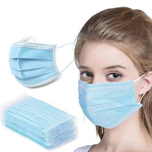 4-Ply Disposable Face Masks – 50pcs Pack